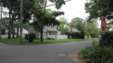 Homes on South Washington Avenue and Charles Street
