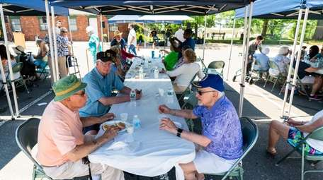 Lunch at the Glen Cove Senior Center's Welcome