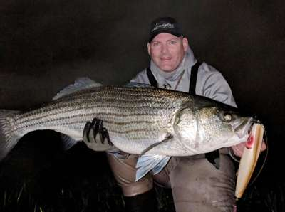 Chris Voorhies caught this fish on the South