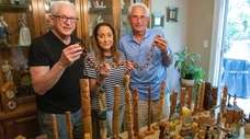 Fred Kleiner, Marion Tenace and Art Kleiner with