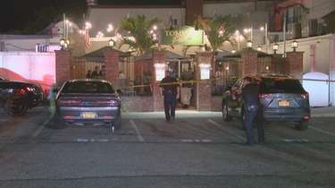 Police responded early Saturday after two men were