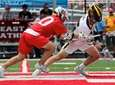 Northport FO Tyler Kuprianchik wins the face off