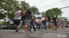 Juneteenth festivities were held across Long Island on