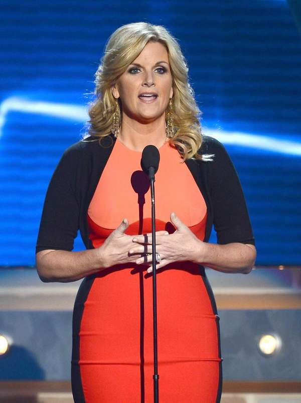 Singer Trisha Yearwood at the 48th Annual Academy