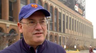 New Mets owner Steve Cohen at Citi Field