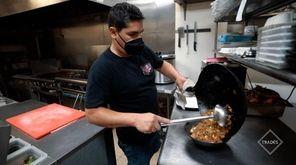 Renzo Vargas and Patricia Espino's Levittown restaurant has