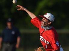 Dominick Mancino #1 of Pierson-Bridgehampton takes the mound