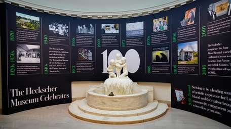 A 100-year timeline shows how the Heckscher Museum