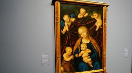 """The German Renaissance masterpiece """"Virgin, Child, St. John"""