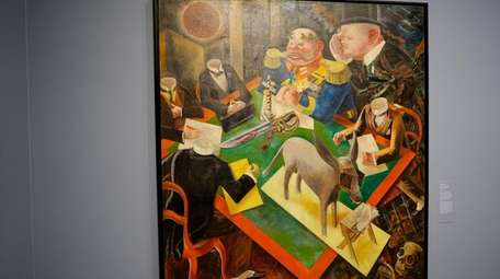 """George Grosz's painting of """"Eclipse of the Sun"""""""