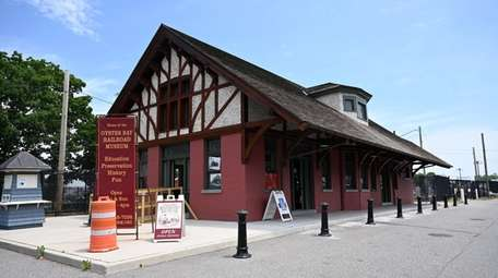The Oyster Bay Railroad Museum, on Saturday.