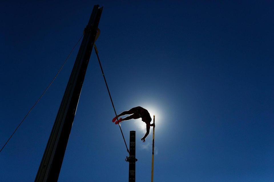 EUGENE, OREGON - JUNE 19: Adam Coulon competes