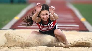 Kayla Esposito of Plainedge leaps her way a