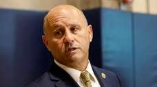 Nassau Police Commissioner Patrick Ryder comments about the