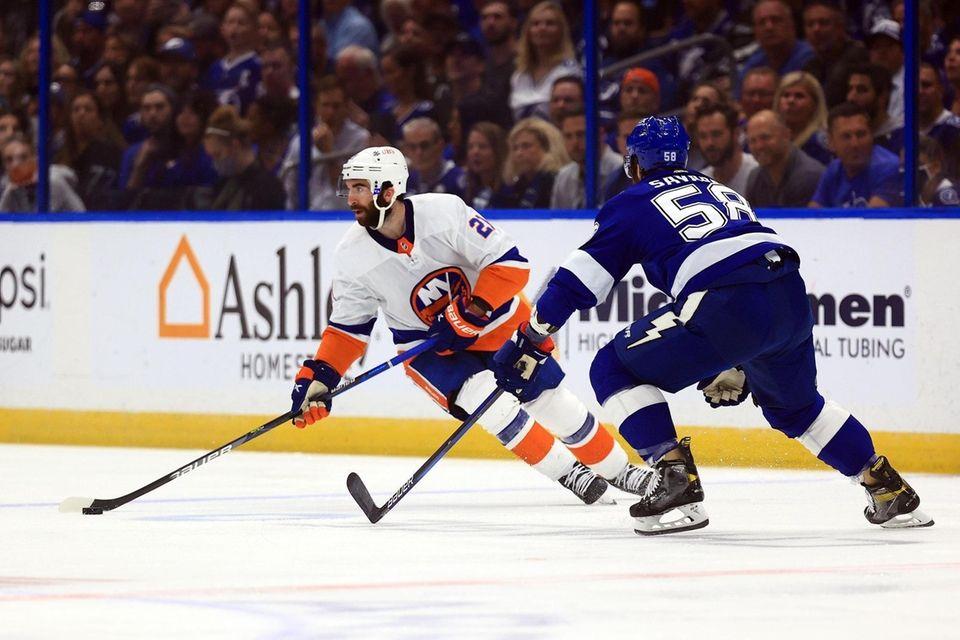 Kyle Palmieri #21 of the New York Islanders
