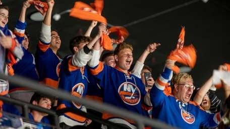 Watch party at Nassau Coliseum. Islanders will be