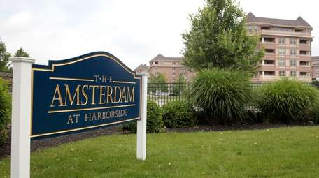 The Amsterdam at Harborside, a 329-unit complex, opened