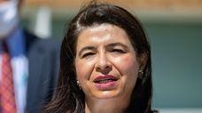 New York State Sen. Anna Kaplan at a