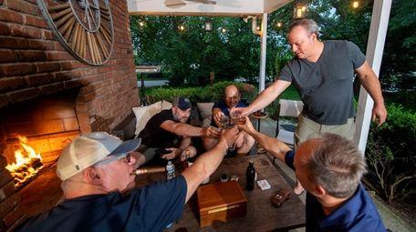 Port Washington's Peter Cafaro turned his outdoor room
