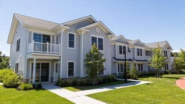 The new affordable veterans housing on Lowndes Avenue