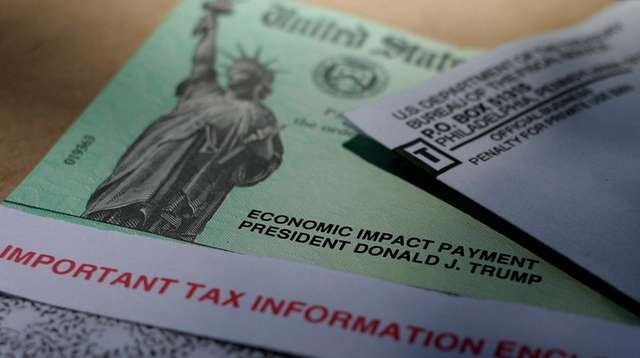 Astimulus check issued by the IRS to help