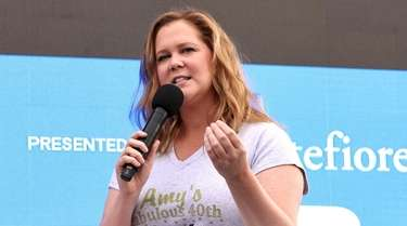 Amy Schumer speaks onstage during Storytellers: Amy Schumer