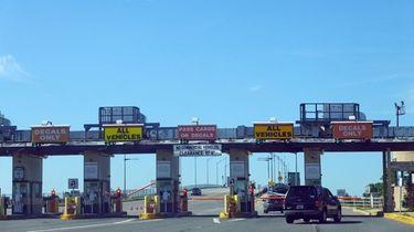 The Atlantic Beach bridge, Long Island's only paid