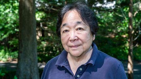 Joan Miyazaki at her home in Stony Brook.