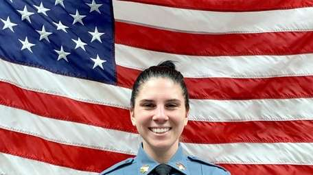 Suffolk County correction officer Candice Ogiejko, 25, was