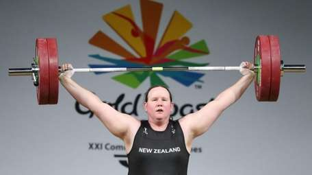 Laurel Hubbard of New Zealand will be the