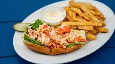 The Connecticut lobster roll at Varney's in Bellport.
