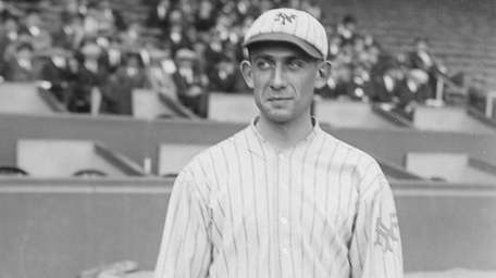 Art Nehf went 1-2 in the 1921 World