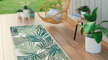 Area rug; $24.99 at Wayfair.com.