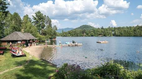 Lake Placid is among the New York State