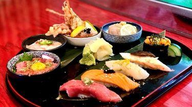 Omakase (chef's choice of sushi) at Umami in