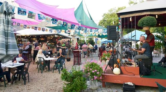 Catch live music this summer at the Garden