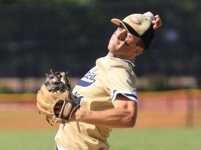 Bethpage #24 Patrick Dalton. Nassau High School baseball