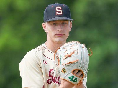 Sachem East High School baseball pitcher Rafe Schlesinger