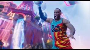 LeBron James takes his star turn with the