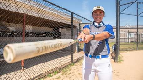 Centerfielder Gianna Oliveri maintained a B+ average and
