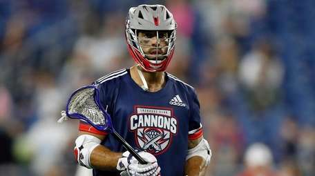Cannons' Paul Rabil (99) in action during a