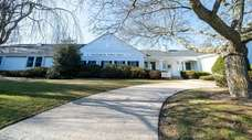 Southold Town Hall in Southold is shown on