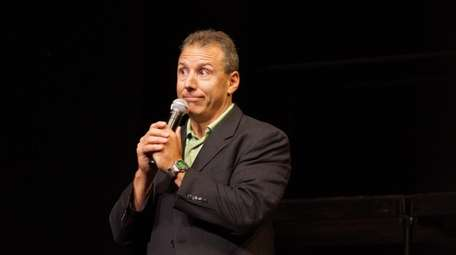 Comic Paul Anthony, who is the founder of