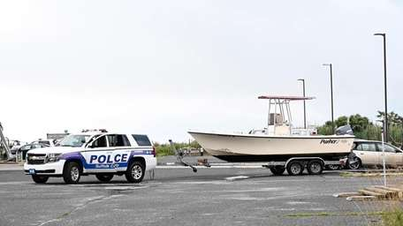 Suffolk police said the operator of a vesselthat