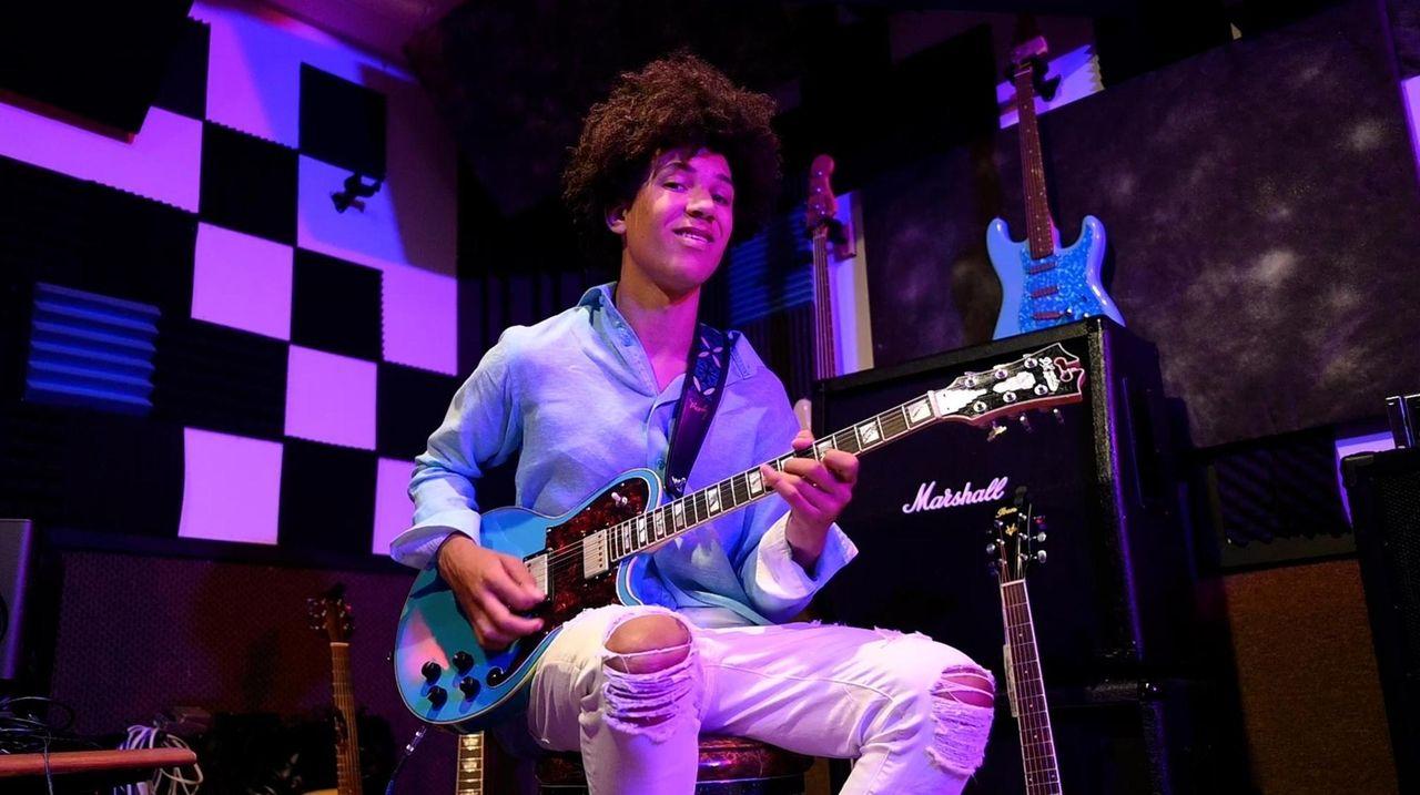 18-year-old guitarist Brandon