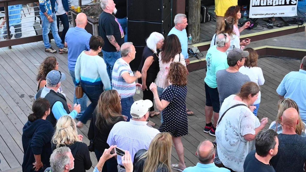 During the summer, Long Islanders enjoy outdoor venues