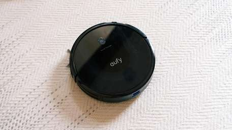 The Eufy Robovac 11S Max cleans well and