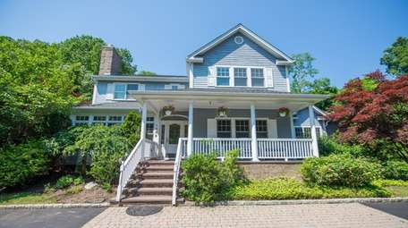 The five-bedroom, 4½-bath Colonial has the potential for