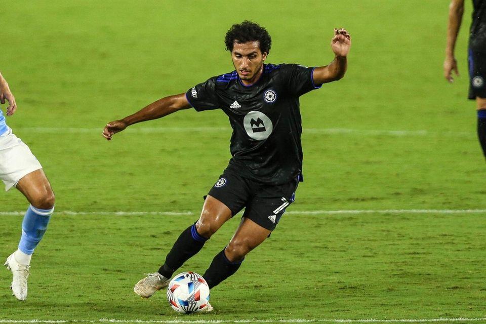 CF Montreal midfielder Ahmed Hamdi Hussein Hafez (7)