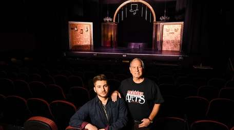 The Argyle Theatre's Mark Perlman and his son